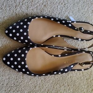Talbots Sling Back closed Sandals